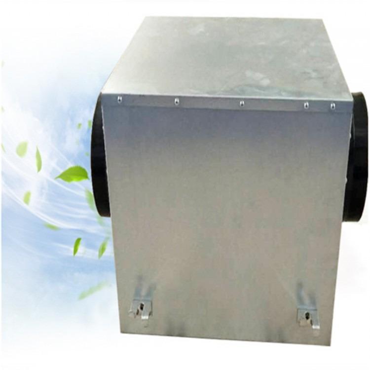启特厂家静音风机箱  低噪音静音型管道风机  镀锌板空调送风机