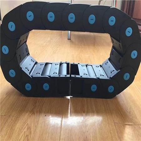 单向桥式组装增强塑料穿线拖链