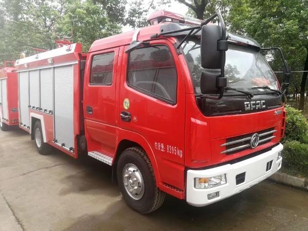 连州江特牌5吨水罐消防车/国五标准排放消防车价格