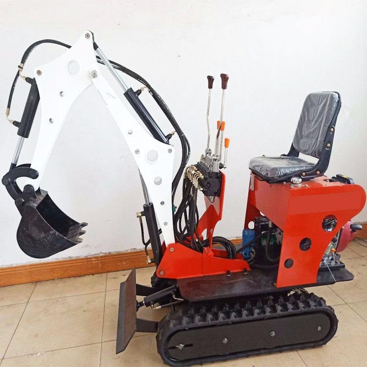济宁东硕机械生产小型液压挖掘机,0.6吨履带式挖掘机  微型农用挖掘机 园林种树挖掘机