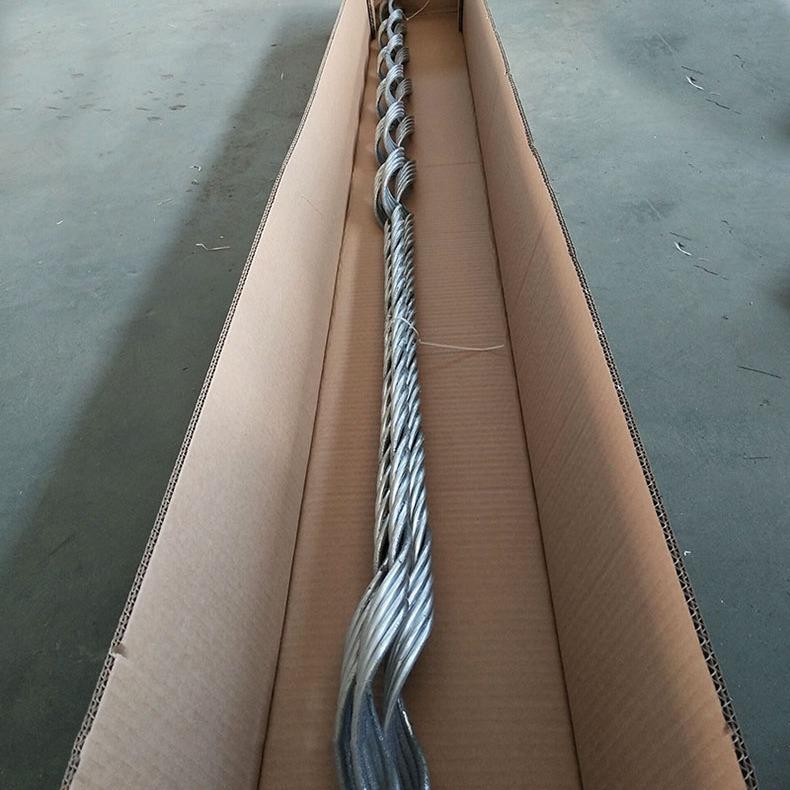 海虹安全备份线夹SBN铝包钢预绞丝成型电力金具帕尔普安全备份线夹