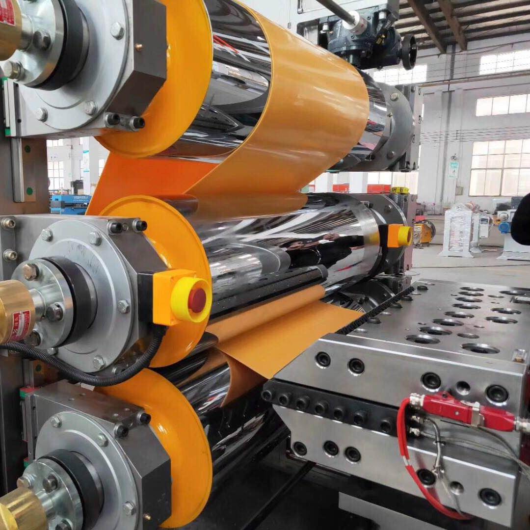 帝达机械XPE发泡棉片材设备自动配混料设备