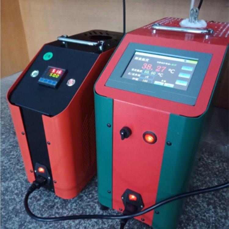 触摸屏干体式温度校验炉