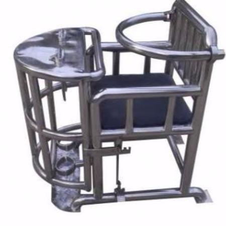 鑫盾安防 审讯椅模型下载  审讯桌