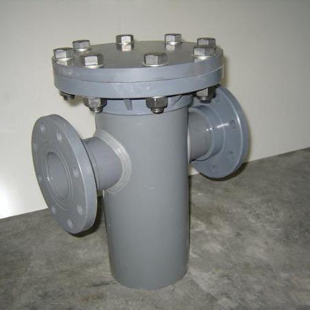 PVC篮式过滤器;pvc蓝式过滤器;UPVC毛发过滤器北京厂家