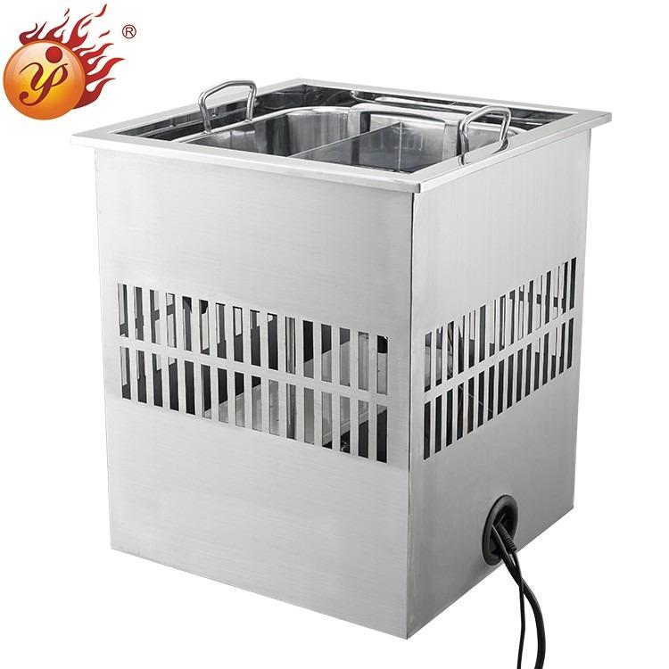 盈派自动升降火锅设备 火锅店进入自动升降火锅时代 定制属于你的火锅店