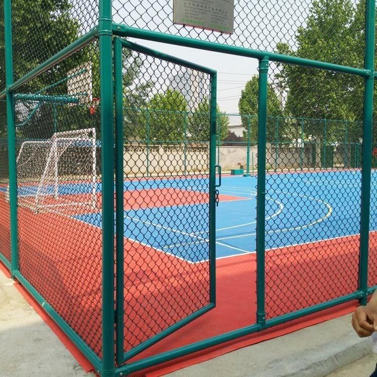 现货促销排球场围网_操场围栏_田径场围网_学校运动场围网