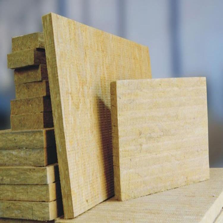 岩棉板 外墙保温岩棉板岩棉纤维屋顶憎水型岩棉板高密度憎水岩棉板