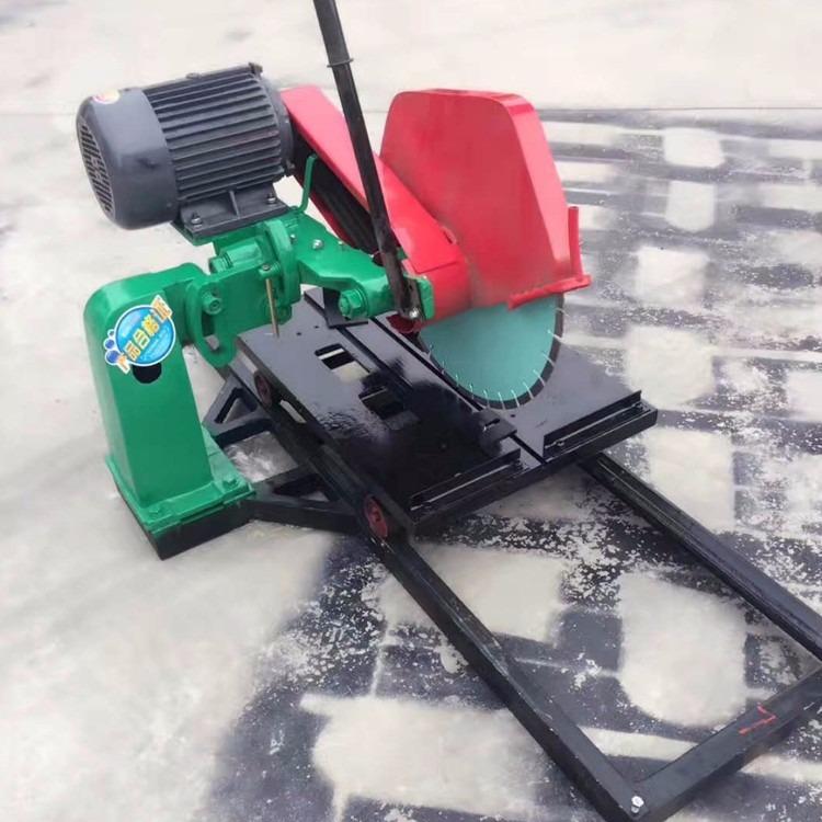 特价出售石材切割机 滑道式大理石切割机 倒角功能切割机厂家