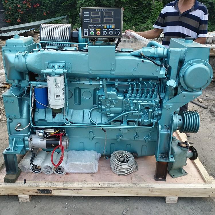 渔船用柴油机 潍柴船用柴油发动机 190kw船用发动机