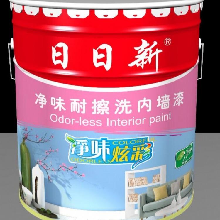 日日新乳胶漆包装 商标授权