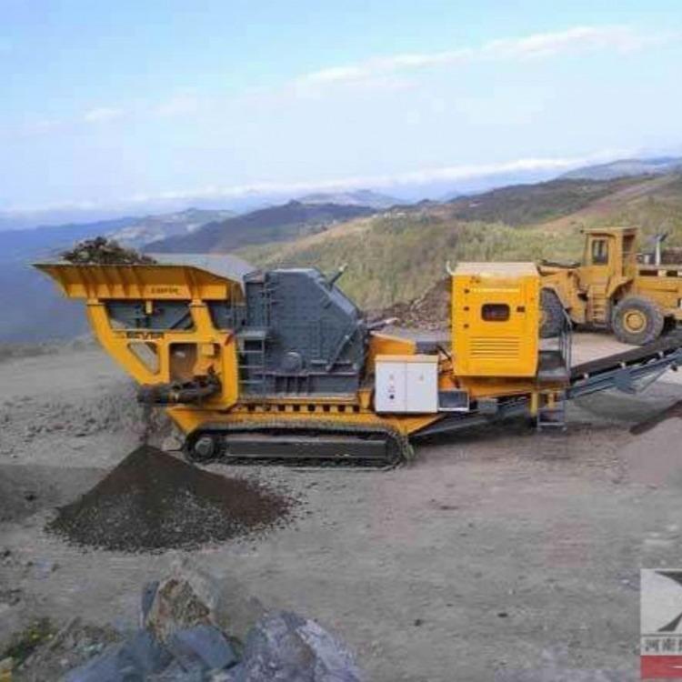 专业制造车载式碎石机,流动石子机,移动式碎石生产线