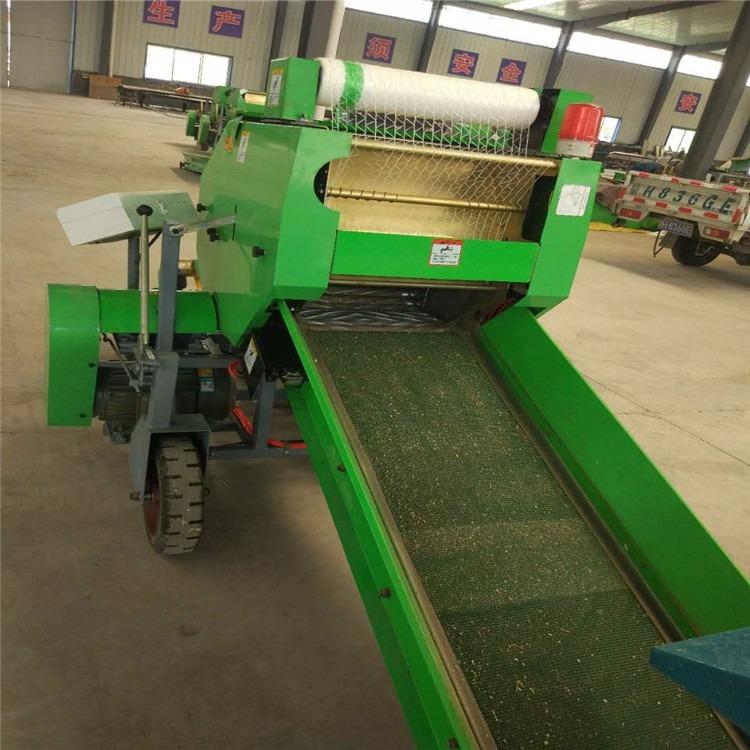 苜蓿草固定打捆机  圣隆机械   青贮打捆机  生产厂家