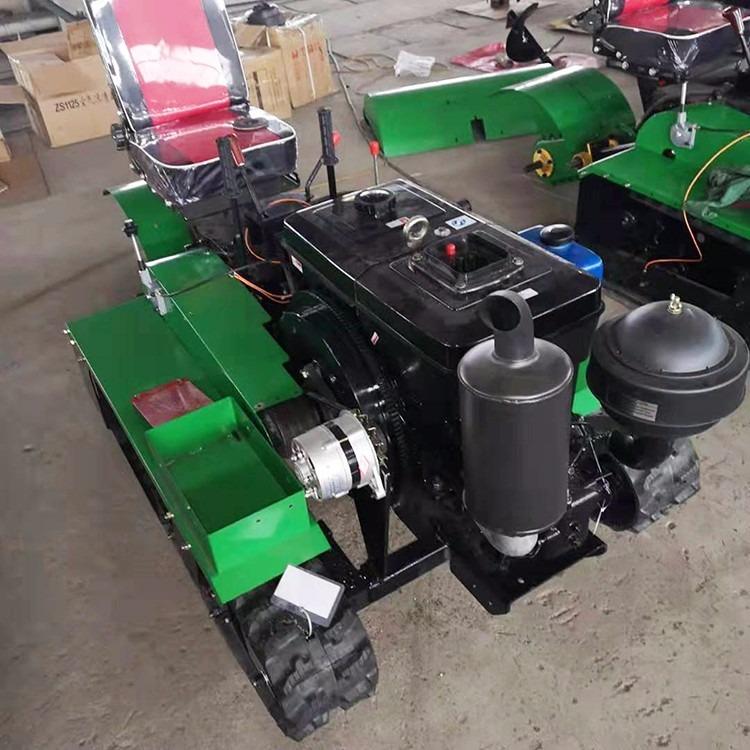 直供多功能田园管理机履带式开沟回填一体机果园旋耕除草机