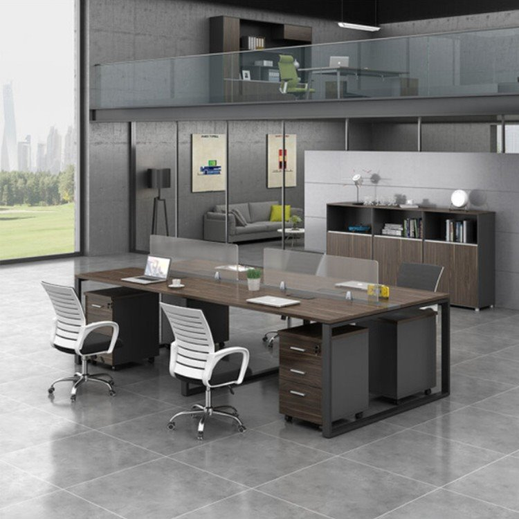 厂家直销办公屏风 定做屏风工位桌椅 转角办公屏风工位隔断