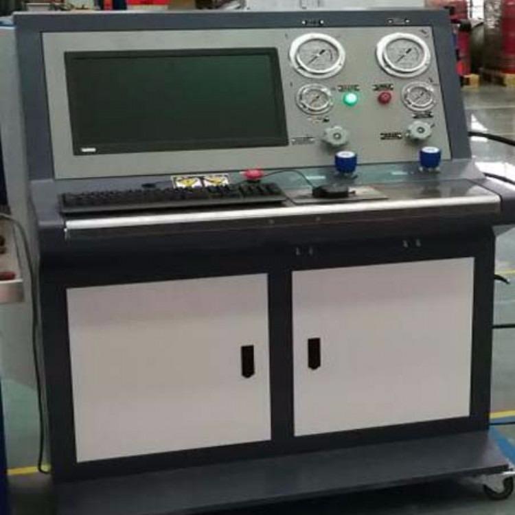 爆破试验设备-灭火器阀门耐压试验机
