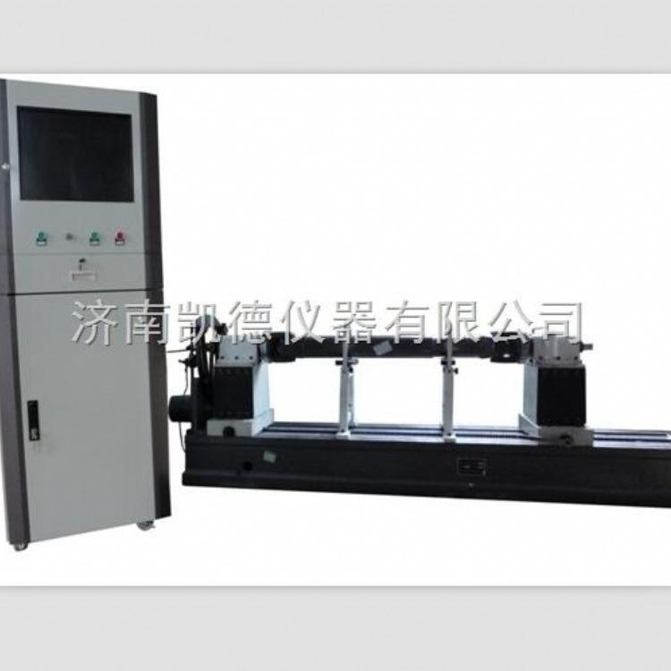 济南凯德仪器 YDB-100A传动轴专用平衡机 传动轴平衡试验机 硬支承卧式动平衡机