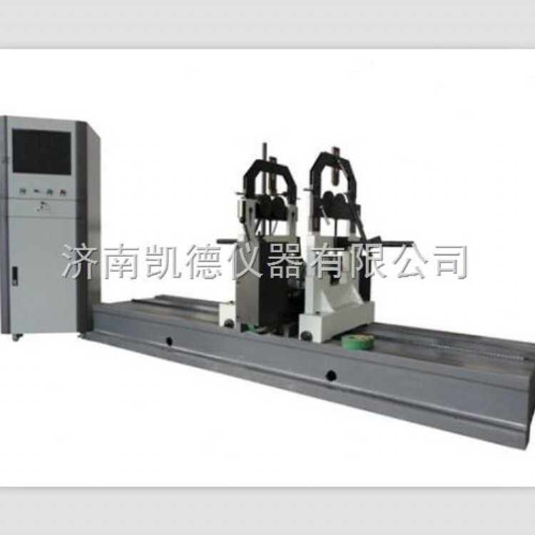 济南凯德仪器 YYQ-1600A圈带动平衡机 圈带动平衡试验机 硬支承卧式动平衡机