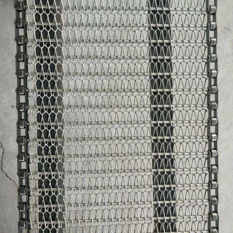 德州网带厂家不锈钢螺旋网带高温烘干不锈钢输送网带滚珠食品网链