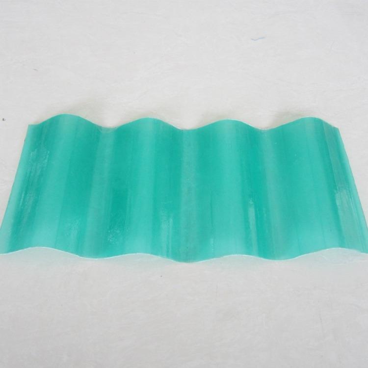 玻璃钢透明采光瓦 pvc塑料透明瓦