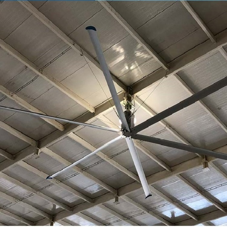 工厂车间降温大型工业大风扇,6.6米工业仓库大吊扇,工业大型吊扇,厂房大吊扇,节能大风扇7.3米直销
