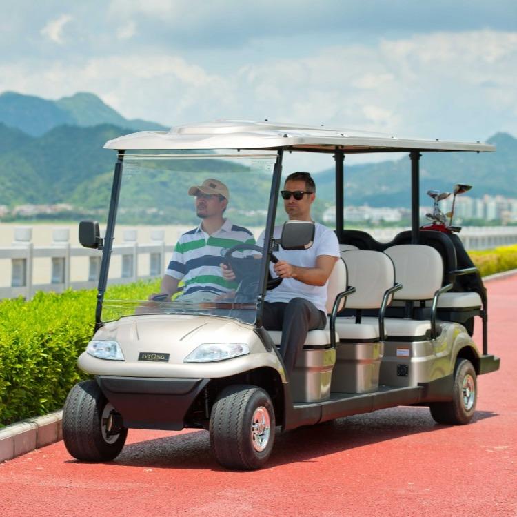 定制款六人座高尔夫观光车 电动车,