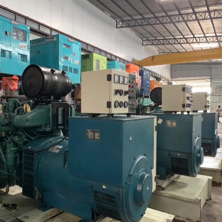 肇庆回收康明斯发电机  发电机组回收  价高同行