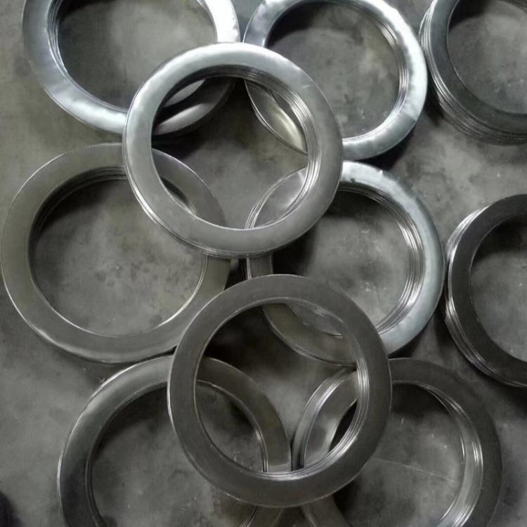 河北不锈钢金属包覆垫片规格 304不锈钢金属包覆垫片生产厂家  不锈钢包覆石棉垫圈钢包垫