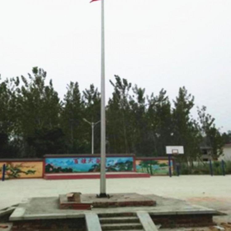 西安江兴厂家大量销售不锈钢三节式旗杆直销电话
