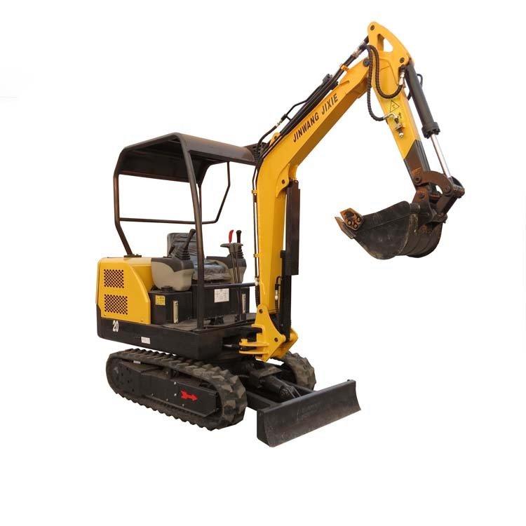 种植树木挖掘机 微型2.0吨刨坑迷你挖沟机 小型履带式挖掘机