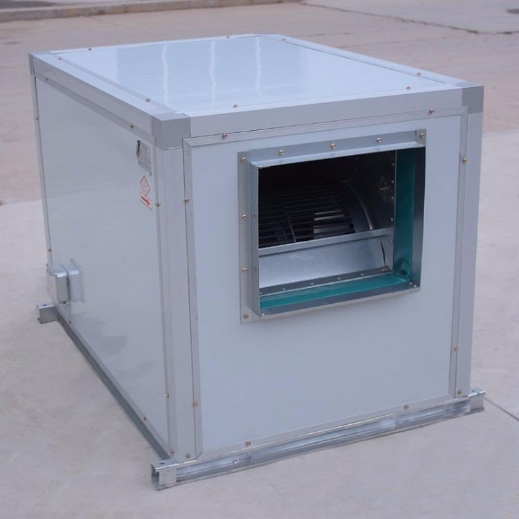 HTFC外转子风机箱 低噪声箱式离心风机 消防通风消声柜式离心风机
