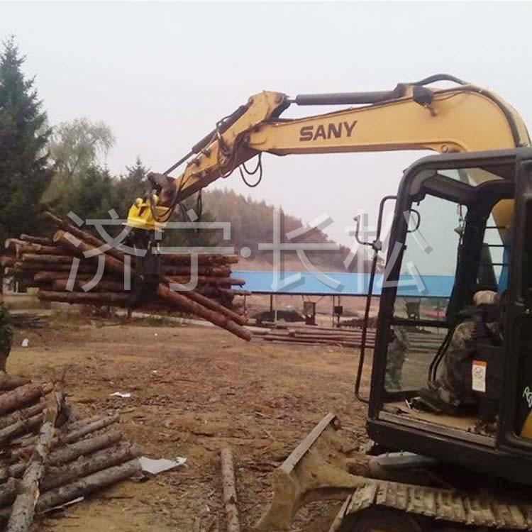 旋转抓木器抓石器 挖掘机液压旋转抓木器夹木器 双缸回路抓木器 挖掘机属具