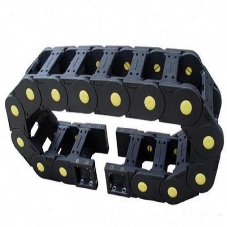 7*7穿线工程塑料拖链,7*7塑料拖链,7*7机床尼龙拖链选择金恒兴机床