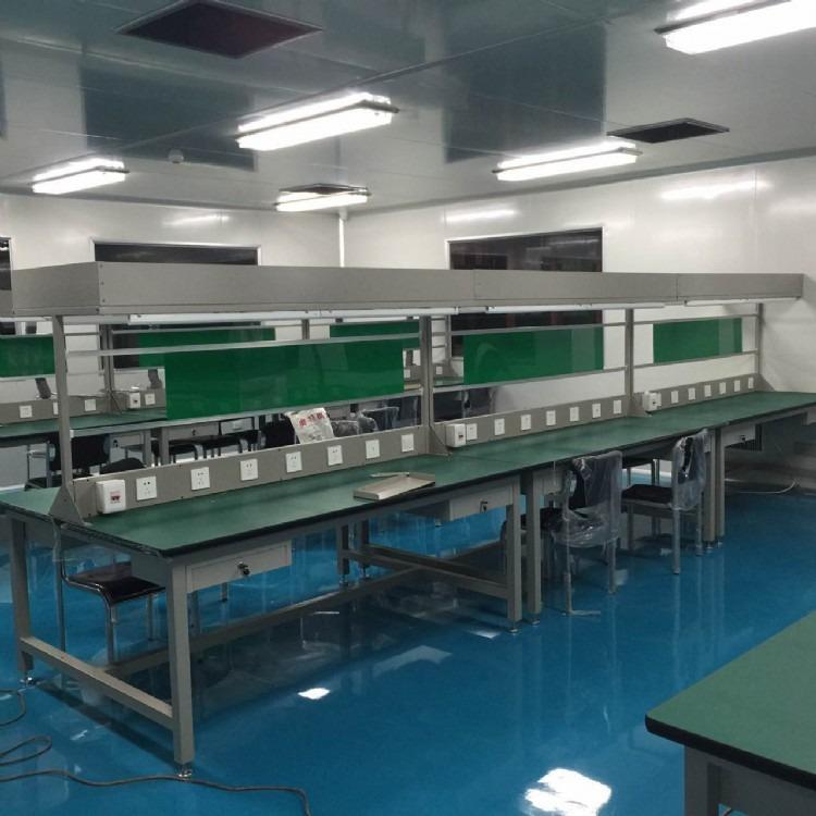 西安厂家生产加工车间工作台 防静电流水线操作台 重型维修桌