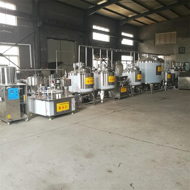 酸奶加工设备 巴氏奶生产线 加工老酸奶设备