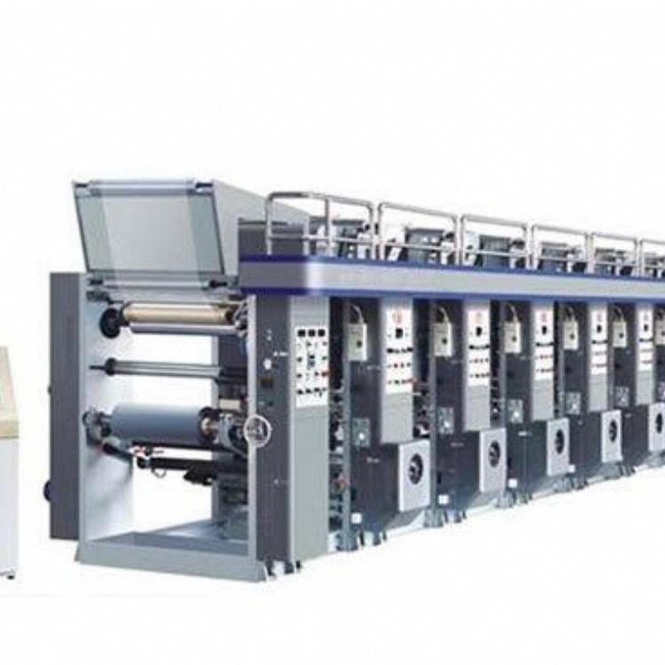 专业生产单色印刷机配吹膜机 自动四色纸张印刷机