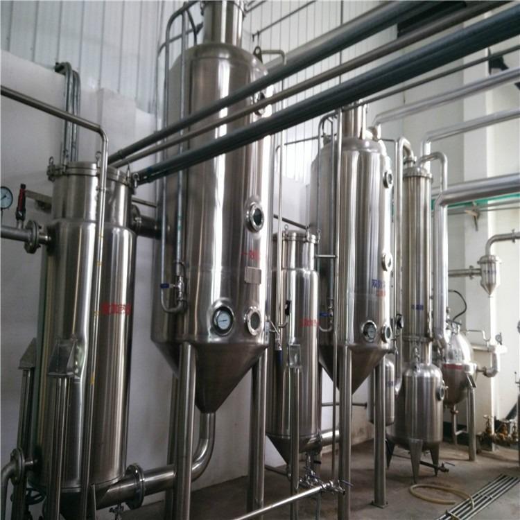 内江出售单效浓缩蒸发器 双效降膜蒸发器 薄膜蒸发器 二手蒸发器