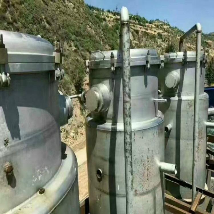 现货低价处理二手蒸发器 二手单效 浆膜 浓缩 mvr蒸发器