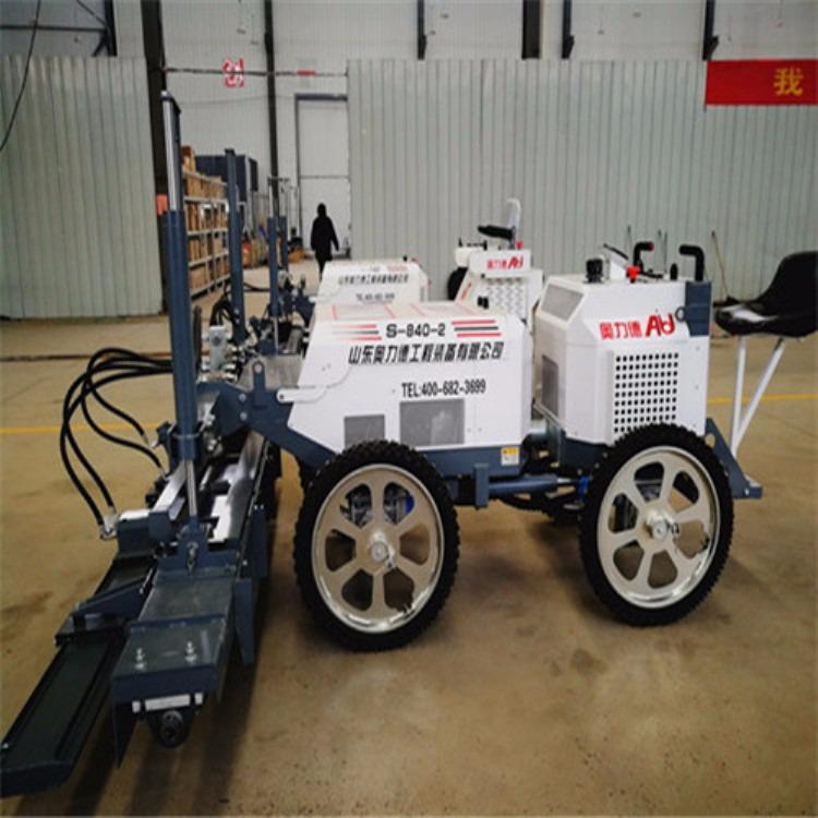 甘肃银川地区小型混凝土摊铺机S-840全自动振捣摊铺一体机厂家