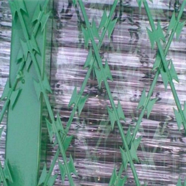 浸塑刀片护栏A浸塑刀片护栏价格A浸塑刀片护栏厂家
