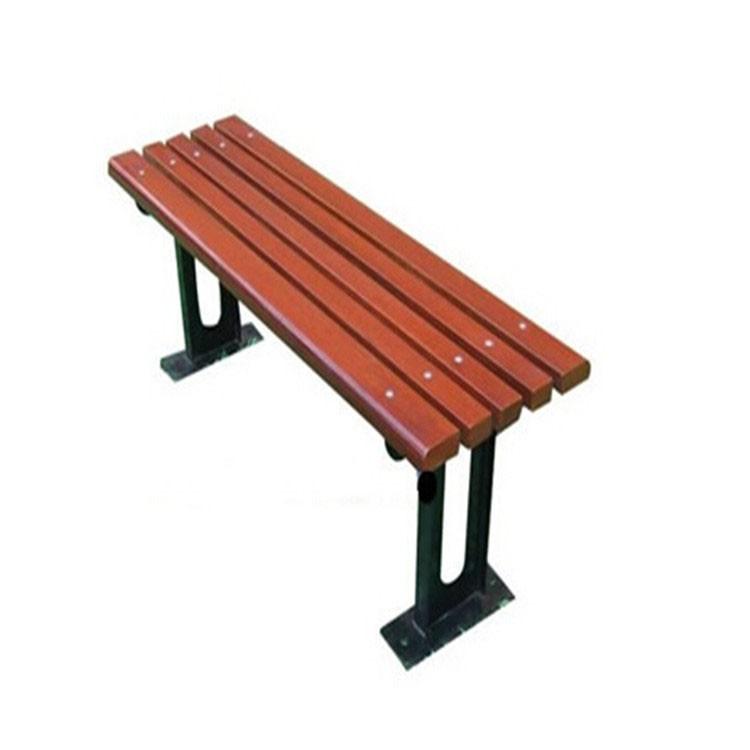 户外铸铁实木公园长椅 休闲长凳 排椅 景区休息椅 贵州厂家热销