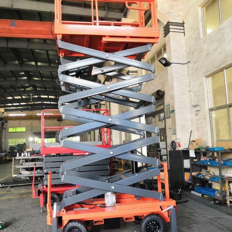 南宁升降机厂家 液压式移动剪叉升降机 高空作业平台 移动升降平车  移动升降机 移动升降机推荐那个牌子