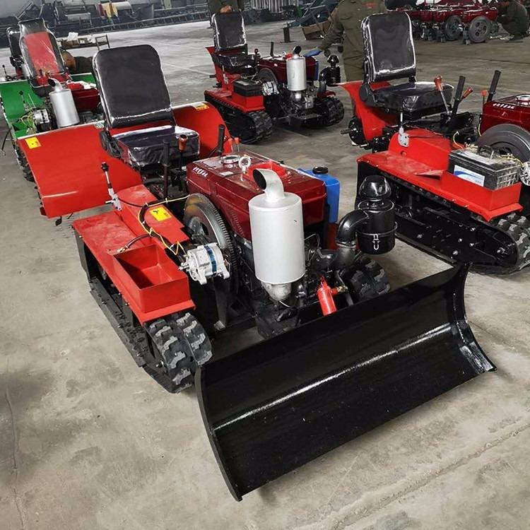 直供多功能履带式旋耕机 农用果园座驾式微耕机 履带式开沟回填机
