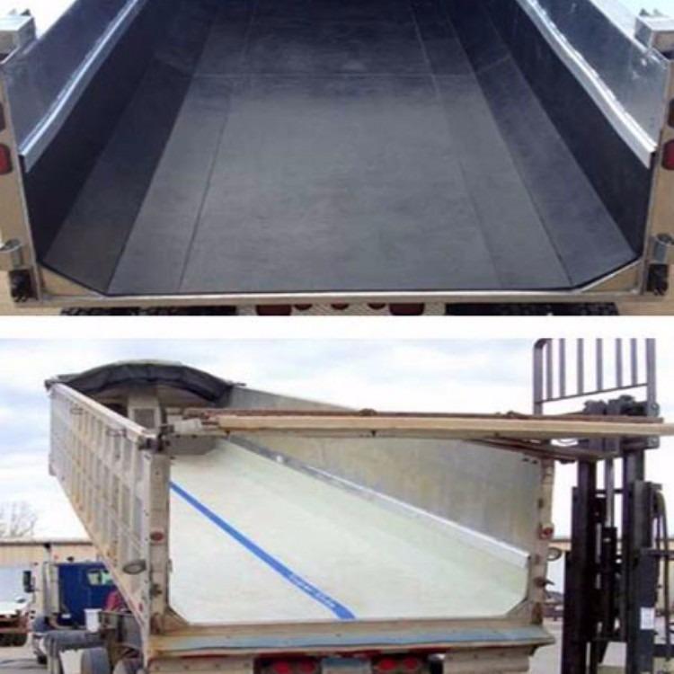 厂家供应车底塑料板 翻斗车箱滑板 超博4mm厚车厢滑板