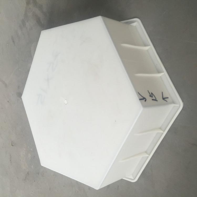 塑料六角形模具 预制六角形护坡模具