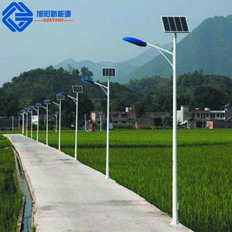 户外8米40瓦新农村一体化led太阳能路灯灯杆  厂家加工定制户外照明灯