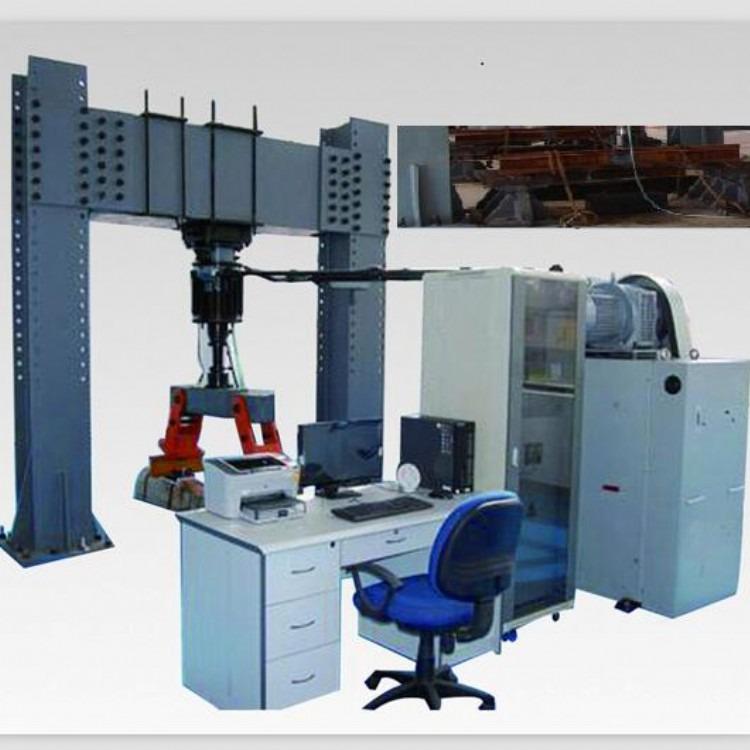 济南凯德仪器 电液式钢轨疲劳试验机 PMW-800-500 疲劳试验机