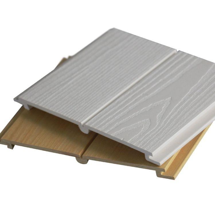 生态木厂家  生态木墙面板墙裙 吊顶生态木板材厂家