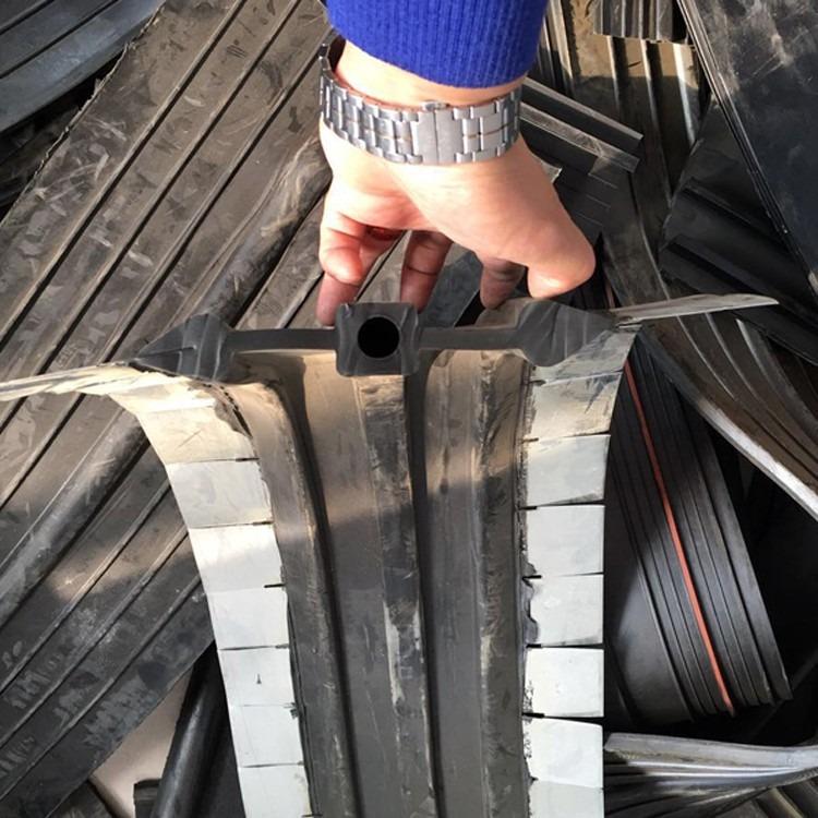 350*8钢边橡胶止水带 中孔中平样式齐全