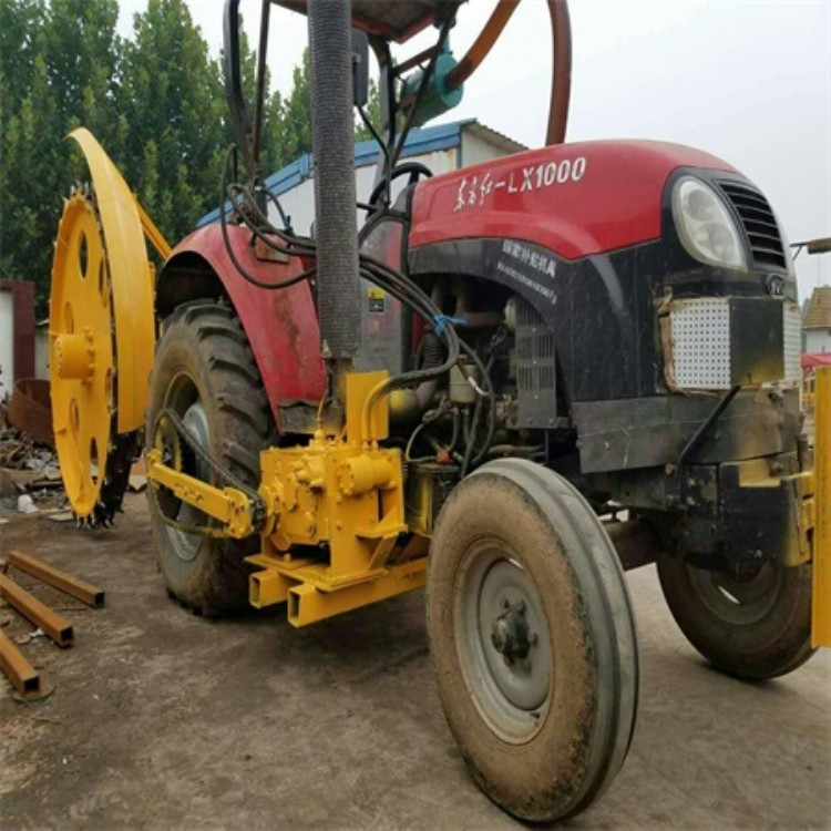 盘锦路面开槽机价格 小型打沟机微耕机带动厂家直销